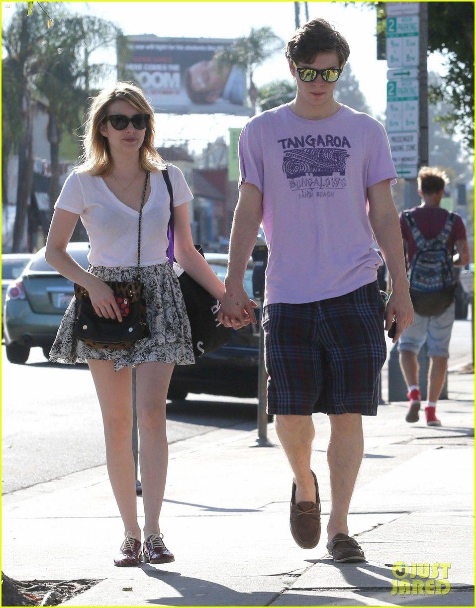 Sept 2012 Evan Peters Emma Roberts Emma Evans