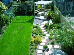 small garden ideas child friendly - Google Search | Gardens with ...