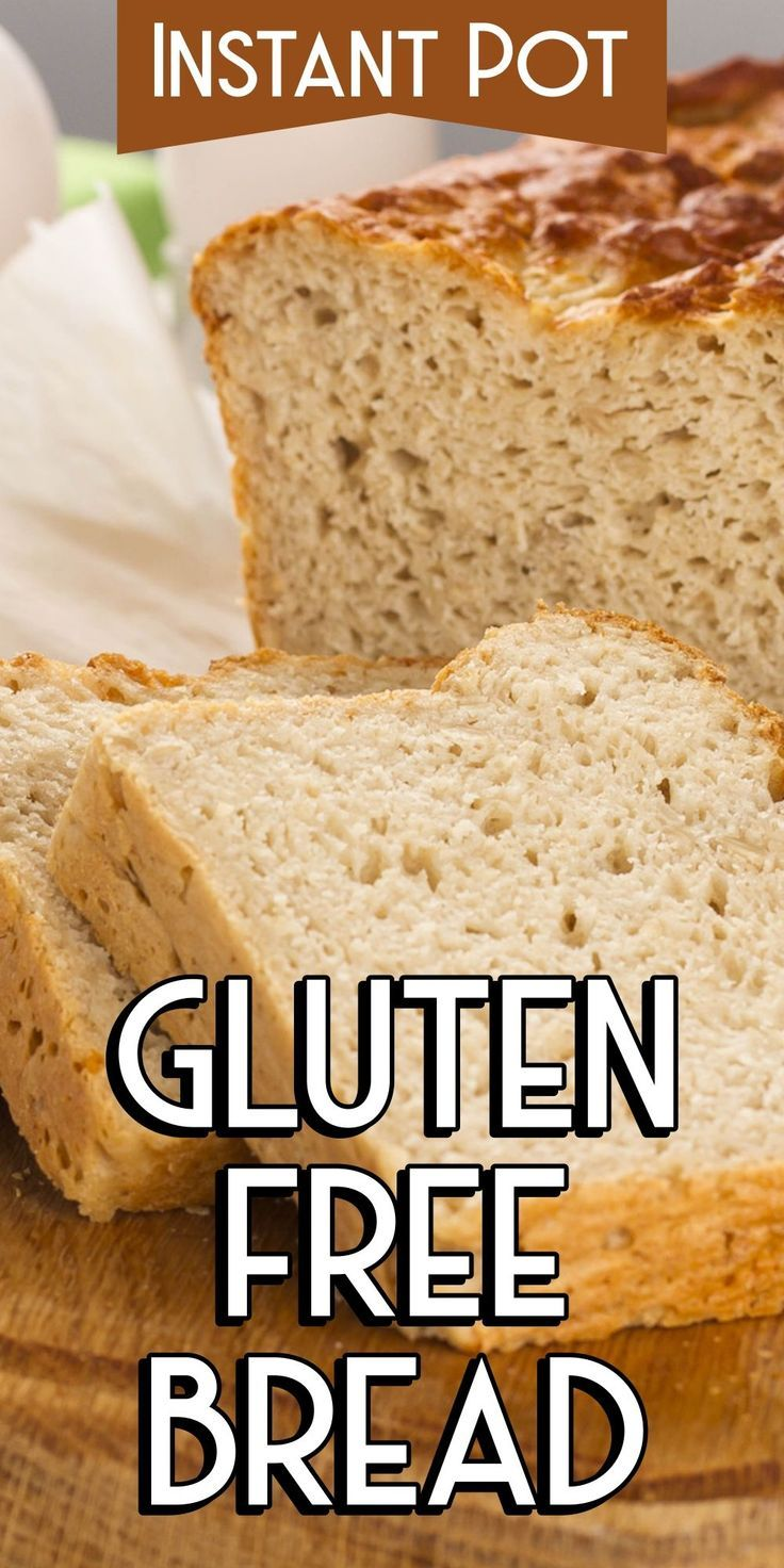 Instant Pot glutenfreies Brot #instantpotrecipeseasy