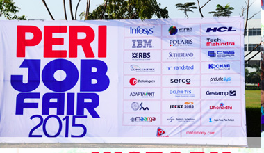 Mega Job Fair on 21 and 22 March 2015 at PERI Institute of Tech-Chennai