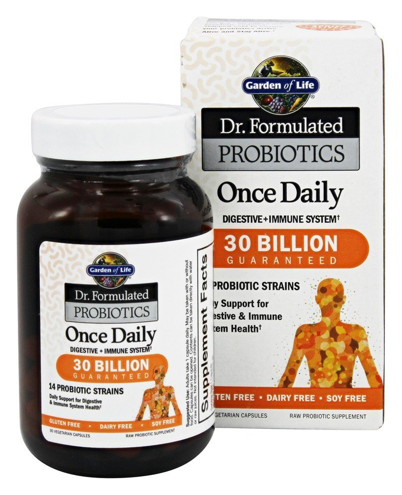 Garden of Life Dr. Formulated Probiotics Once Daily 30