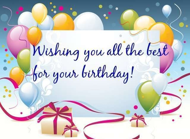 Happy Birthday Dear Wish You All the Best From the Bottom of My – Best Birthday Wishes Greetings