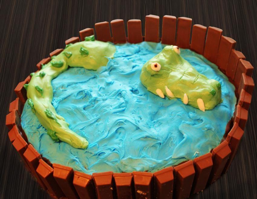 Kuchen mit royal icing