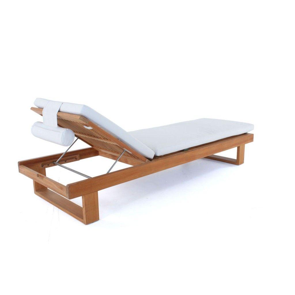 Horizon Custom Teak Lounger Cushion | Westminster Teak