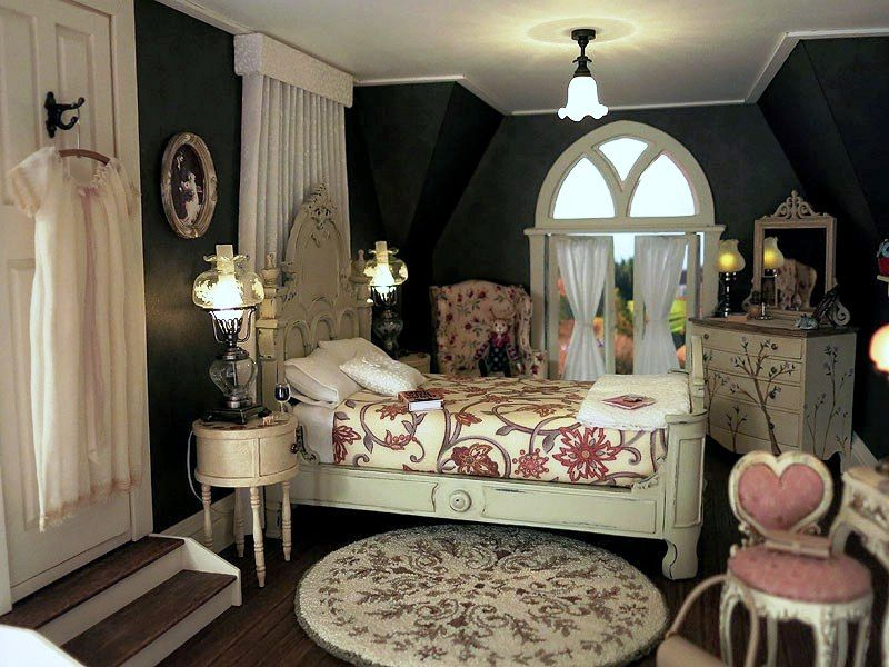 Old fashion bedroom