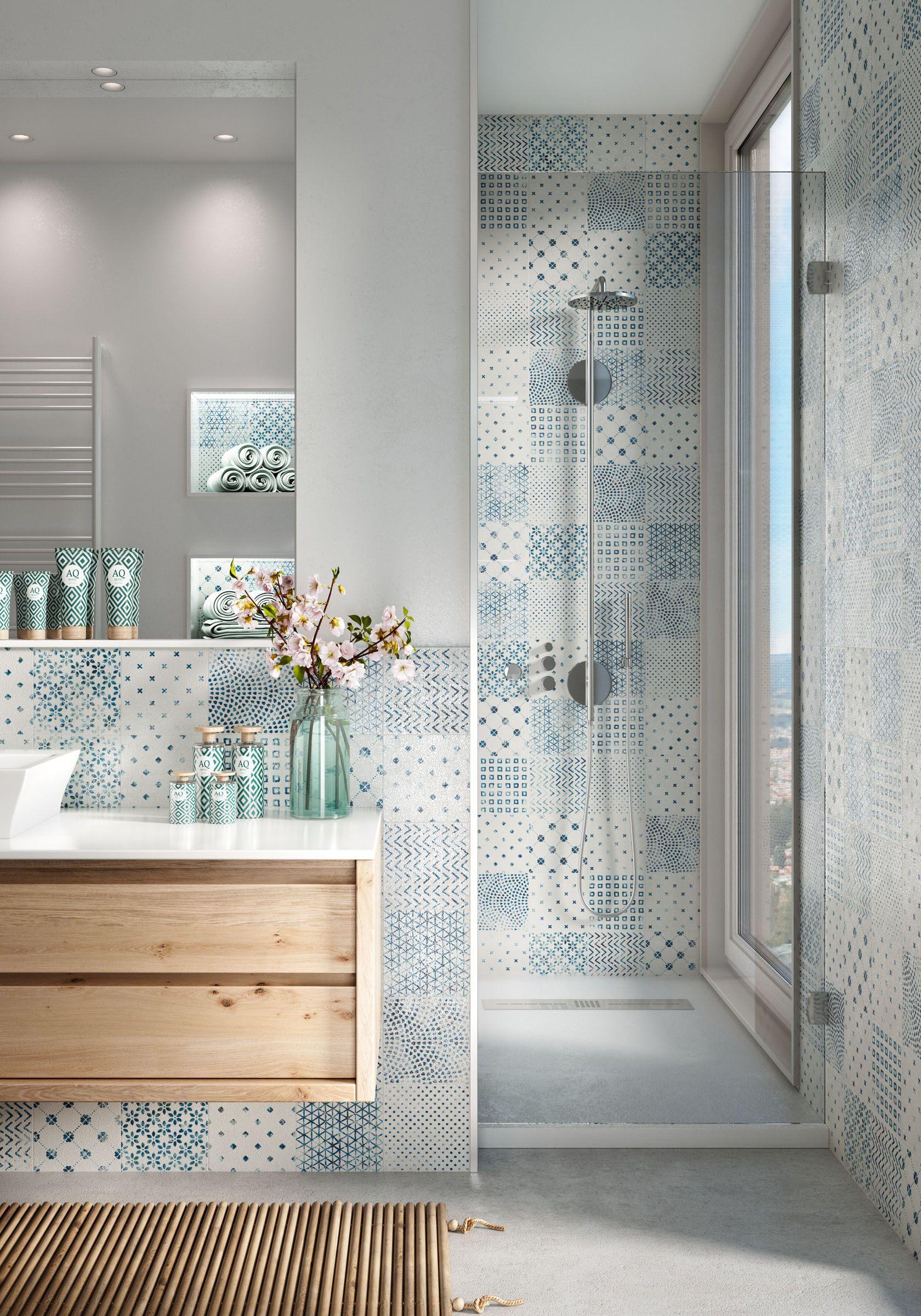 Delft Modern Vintage Badezimmer Innenausstattung Badezimmer Badezimmer Design