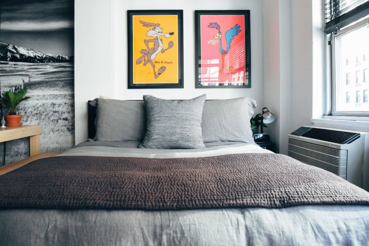 Apartment Optimal menswear designer ian velardi has the optimal nyc studio apartment