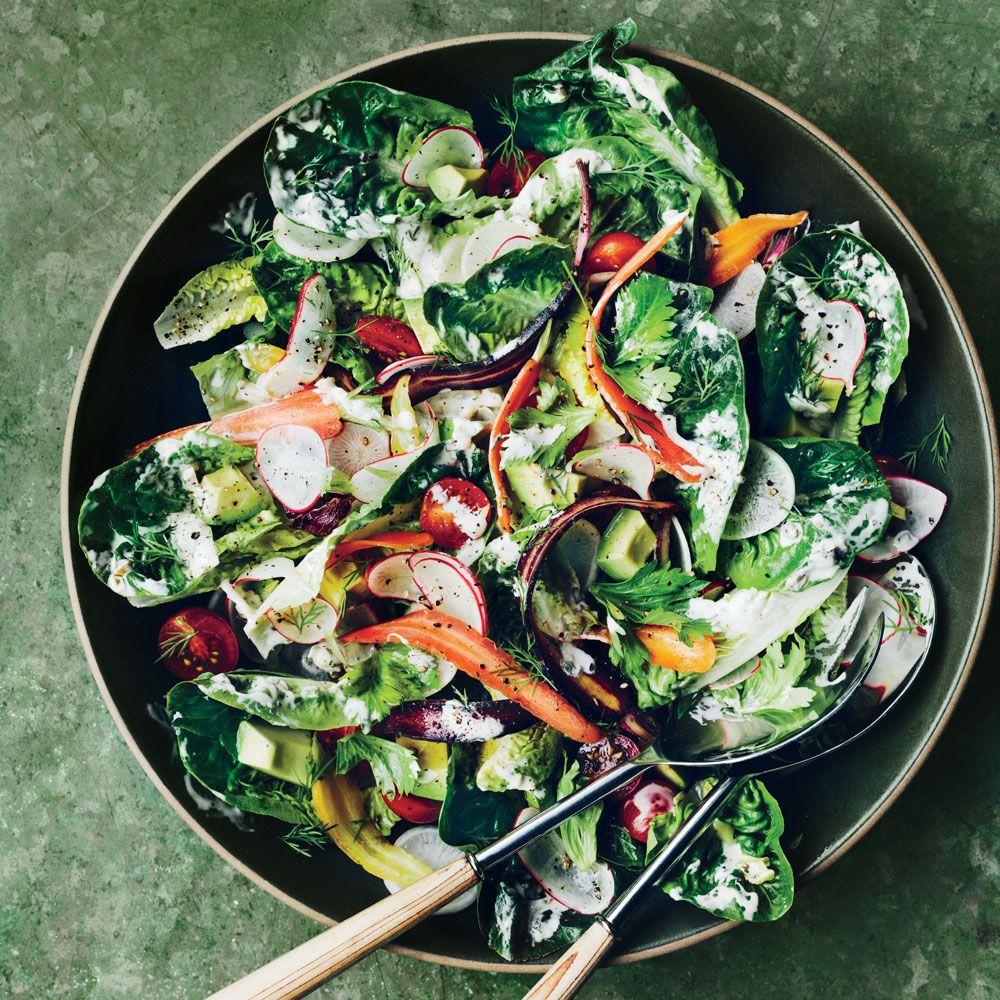 Oma's Green Mountain Salad