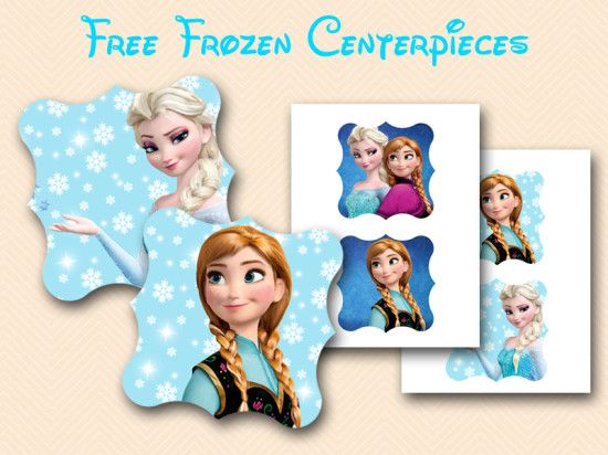 photograph about Free Frozen Printable identify cost-free frozen centerpieces printable Disney Video clip Frozen