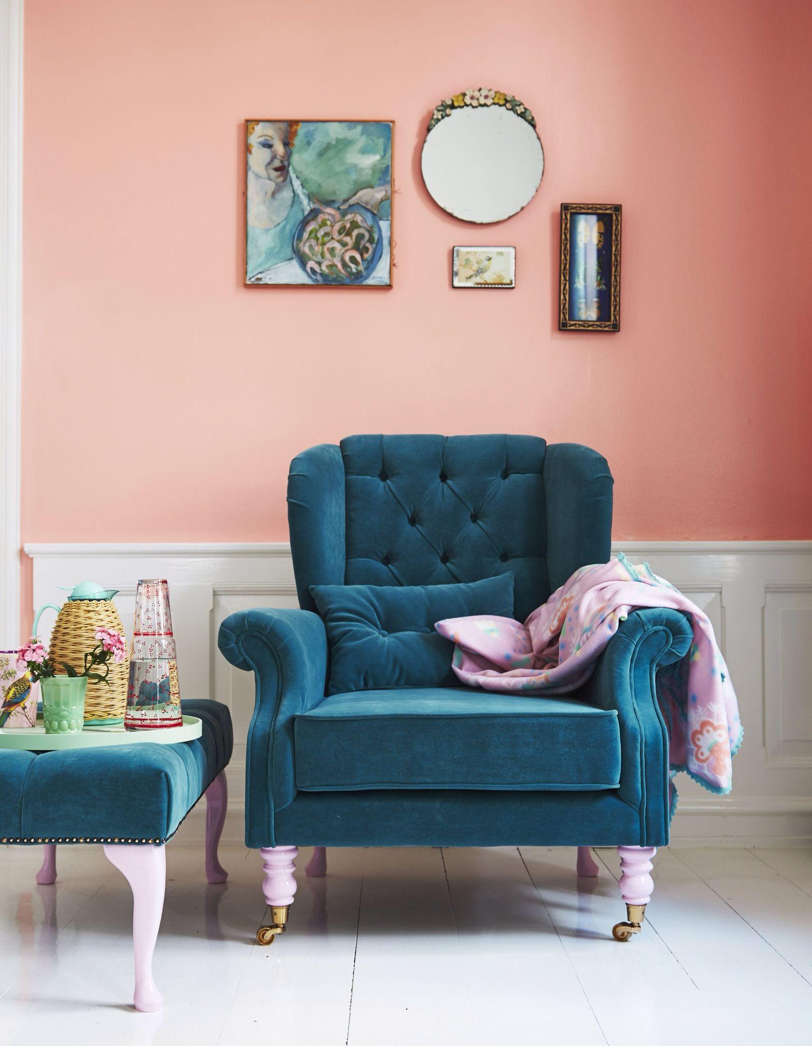Take a seat aw14 wohnen mit farbe wandfarbe sessel for Lesezimmer einrichten ideen
