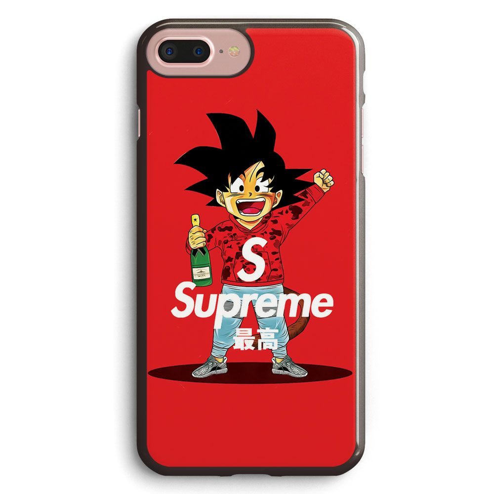 supreme feat goku apple iphone 7 plus case cover isvh610. Black Bedroom Furniture Sets. Home Design Ideas