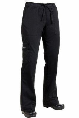 248806c3f50 Black Women s Chef Cargo Pants