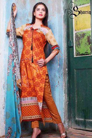 Shariq Textiles Libas Crinkle Lawn Spring Collection #dresses #dress #pakistanidresses #partydresses