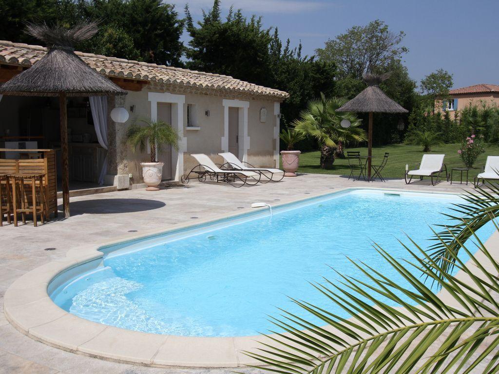 mas proven al luxe poolhouse paradisiaque piscine chauff e spa st remy bouches du. Black Bedroom Furniture Sets. Home Design Ideas