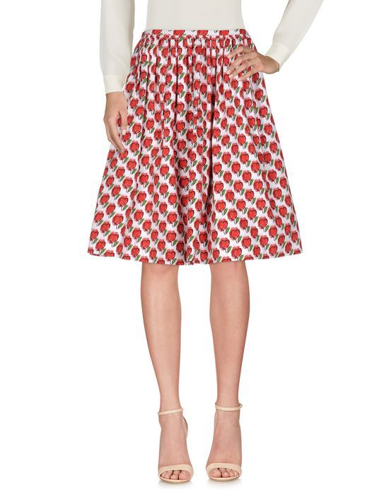 PRADA Knee length skirt - Skirts | YOOX.COM #knielangeröcke
