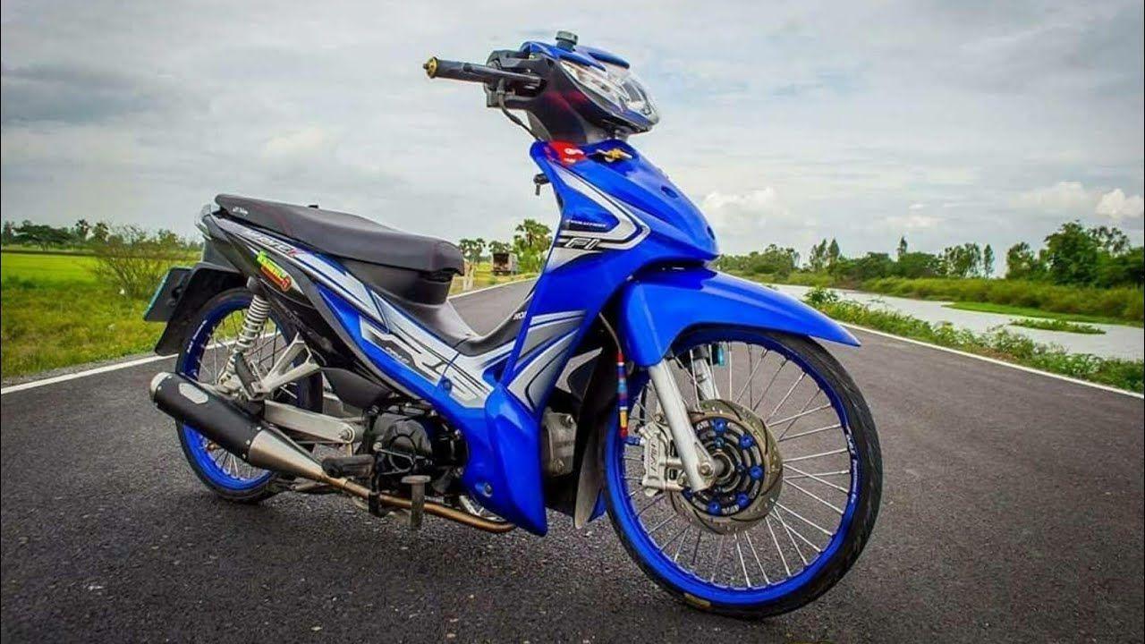 Modifikasi Motor Revo 110 Di 2020 Sepeda Motor Honda Motor Honda