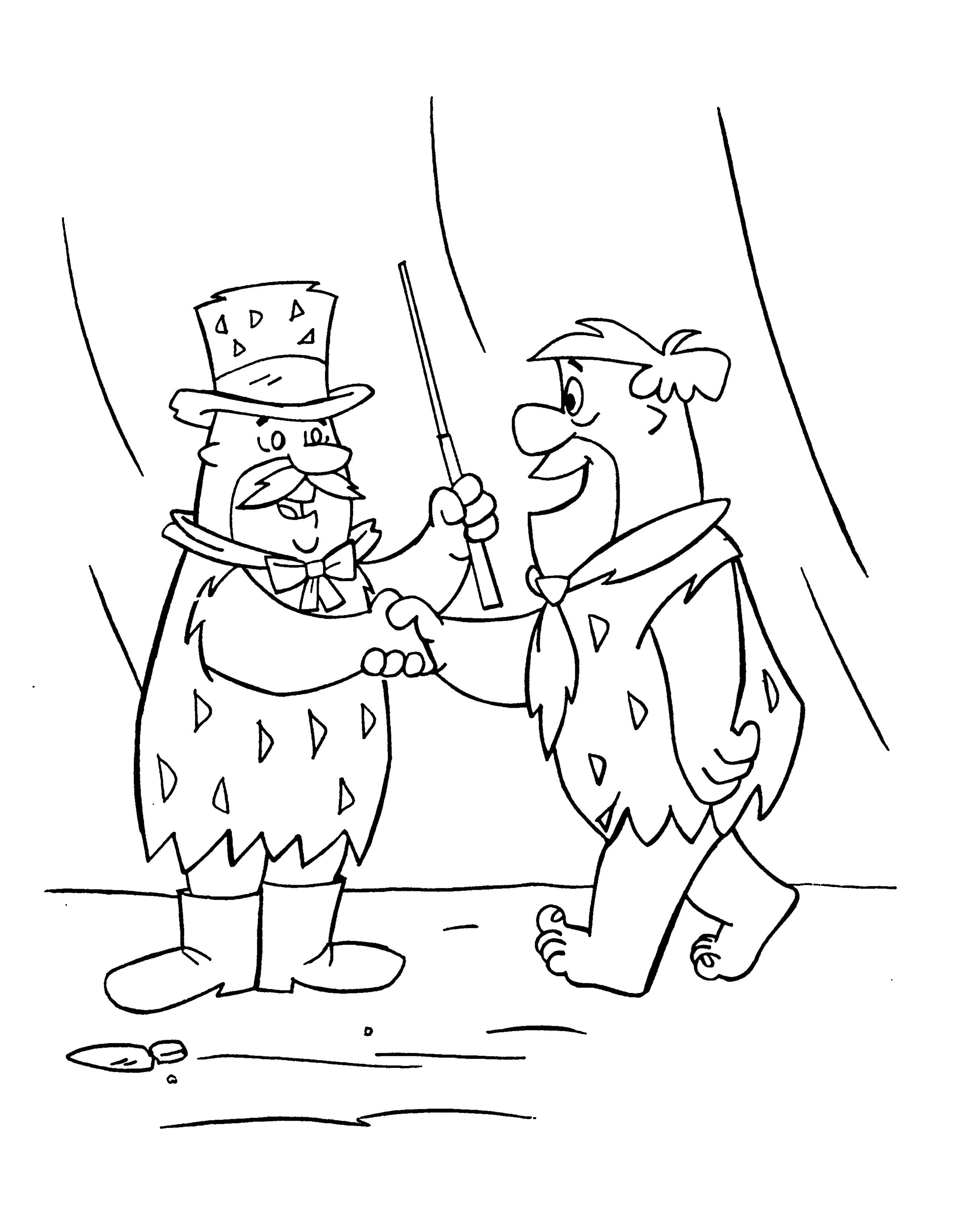 Kostenlose Ausmalbilder Eiskönigin : Kleurplaat Kleurplaten De Flintstones 25 Kleurplaat