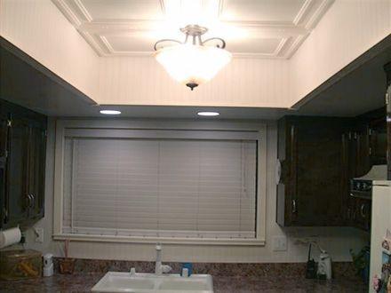 remodel flourescent light box in kitchen - Bing images ...