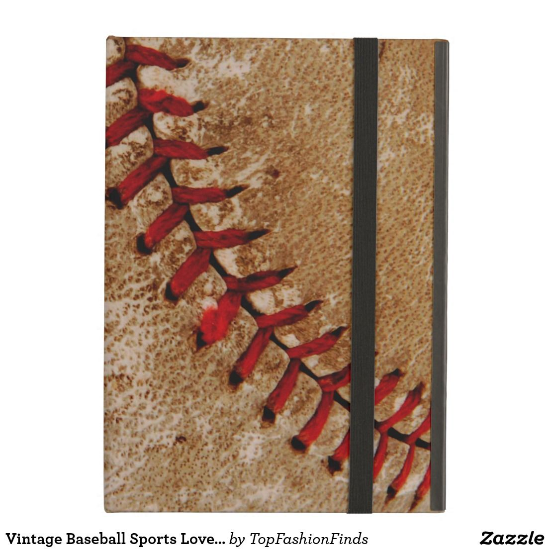 Vintage Baseball Sports Lover Go Team Case For iPad Air