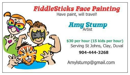 Face Painting Business Card By Vistaprint Face Painting Easy Face Painting Face Painting Designs