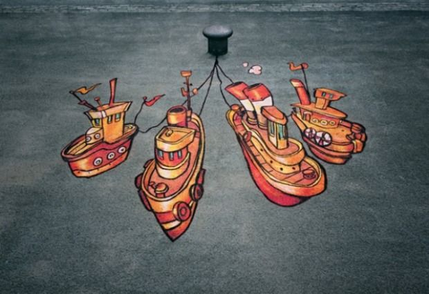 street-art-bristol-so-design-consultant-birmingham-ambient-marketing-orange-UK-painting-paint-3-600x412