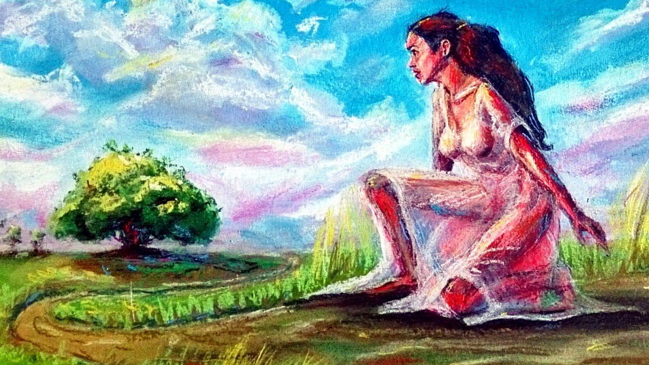 Dibujo Artistico Basico Mejorar La Perspectiva De Un Paisaje Al Pastel Como Dibujar Personas Pintura Y Dibujo Artistas