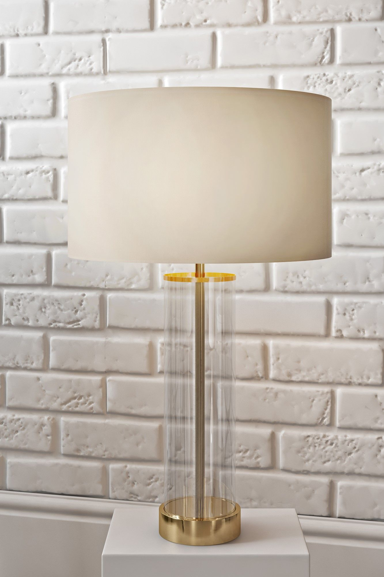 Nachttischleuchte Touch Dimmer Lessina 57cm Table Lamp Trend Metallics Table Lamp Lighting