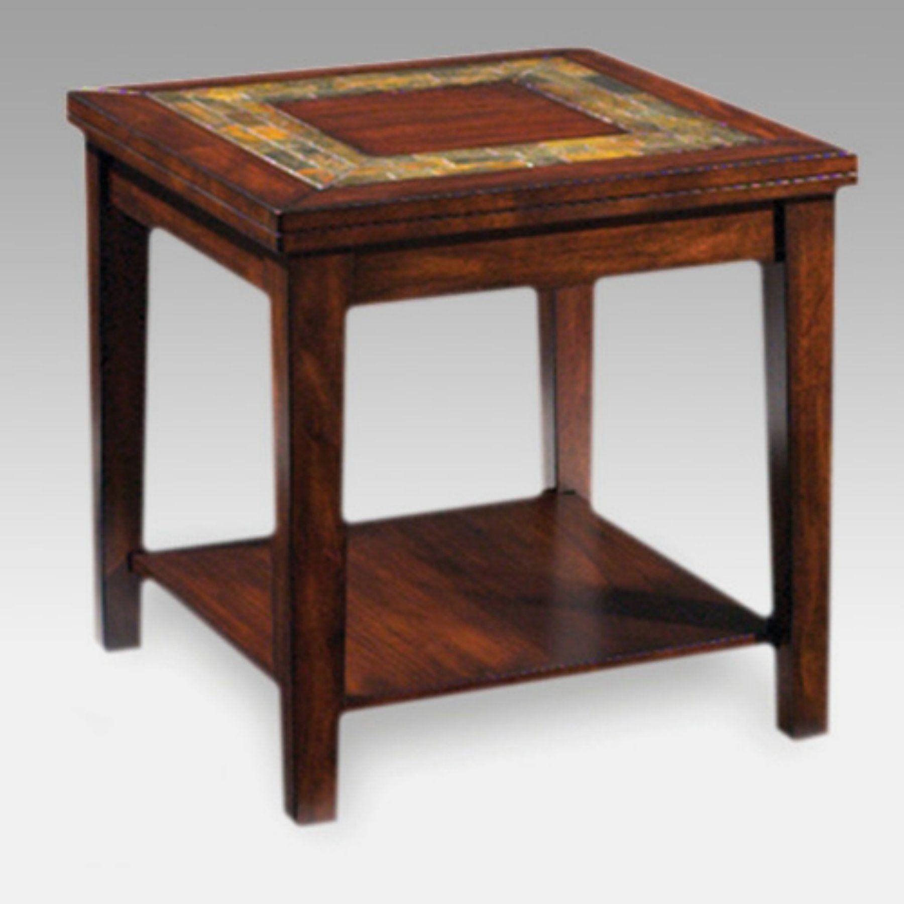 Steve Silver Davenport Slate Top End Table End Tables Table