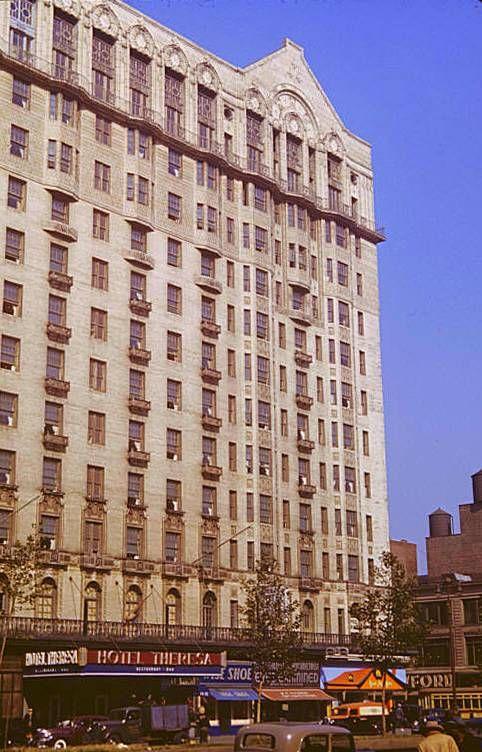 The Famous Hotel Theresa Harlem Ny