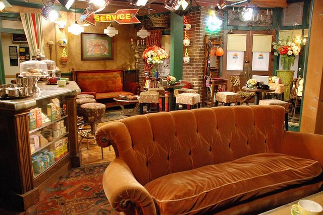 Friends Couch Themed Cafes Warner Bros Studio Tour The Good Place