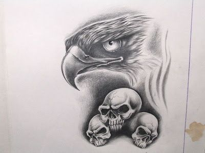 Free Tattoo Designs Eagle And Skull Tattoo Flash Free Tattoo Designs Eagle Tattoos Tribal Sleeve Tattoos