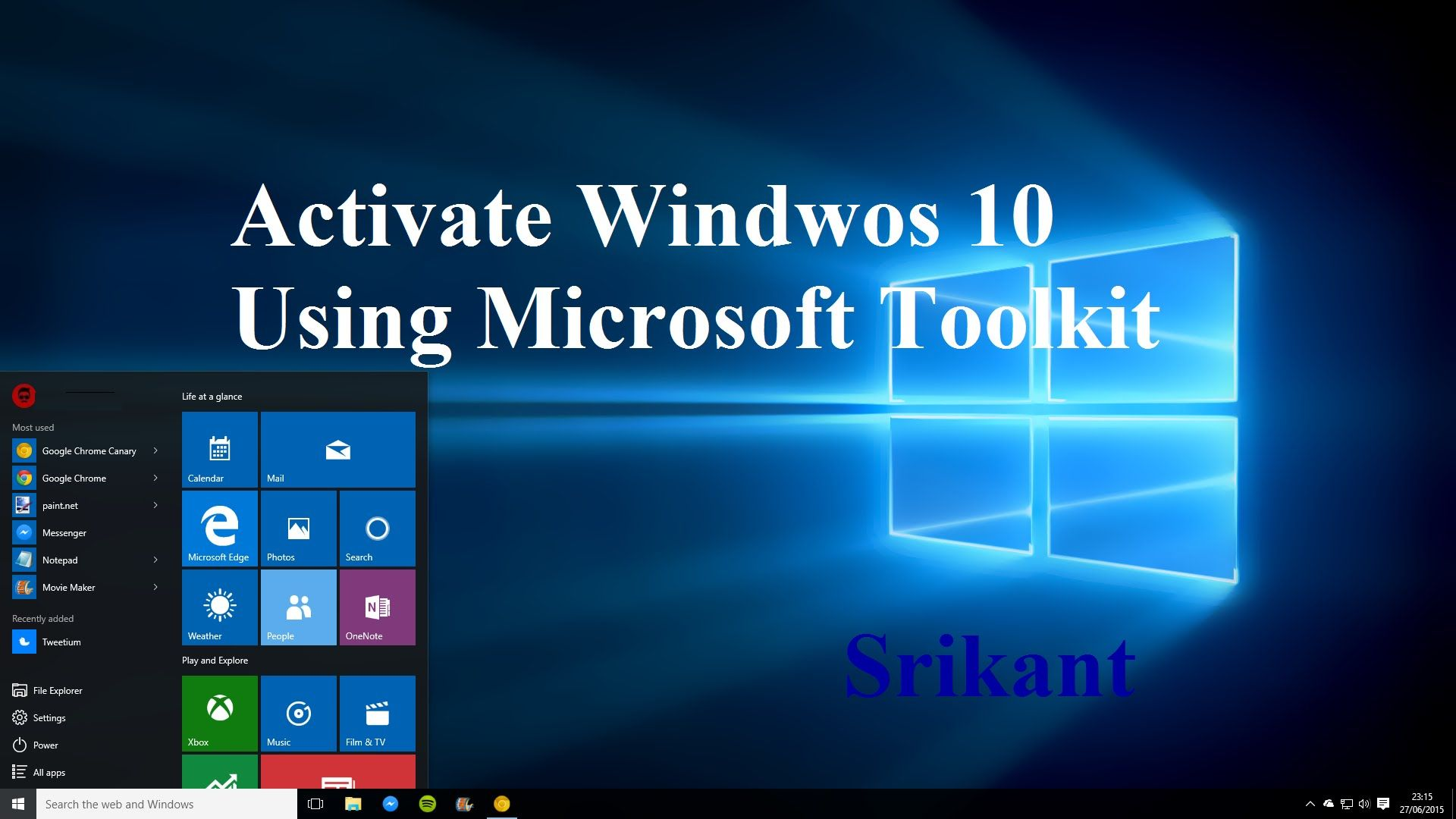 using microsoft toolkit to activate windows 10