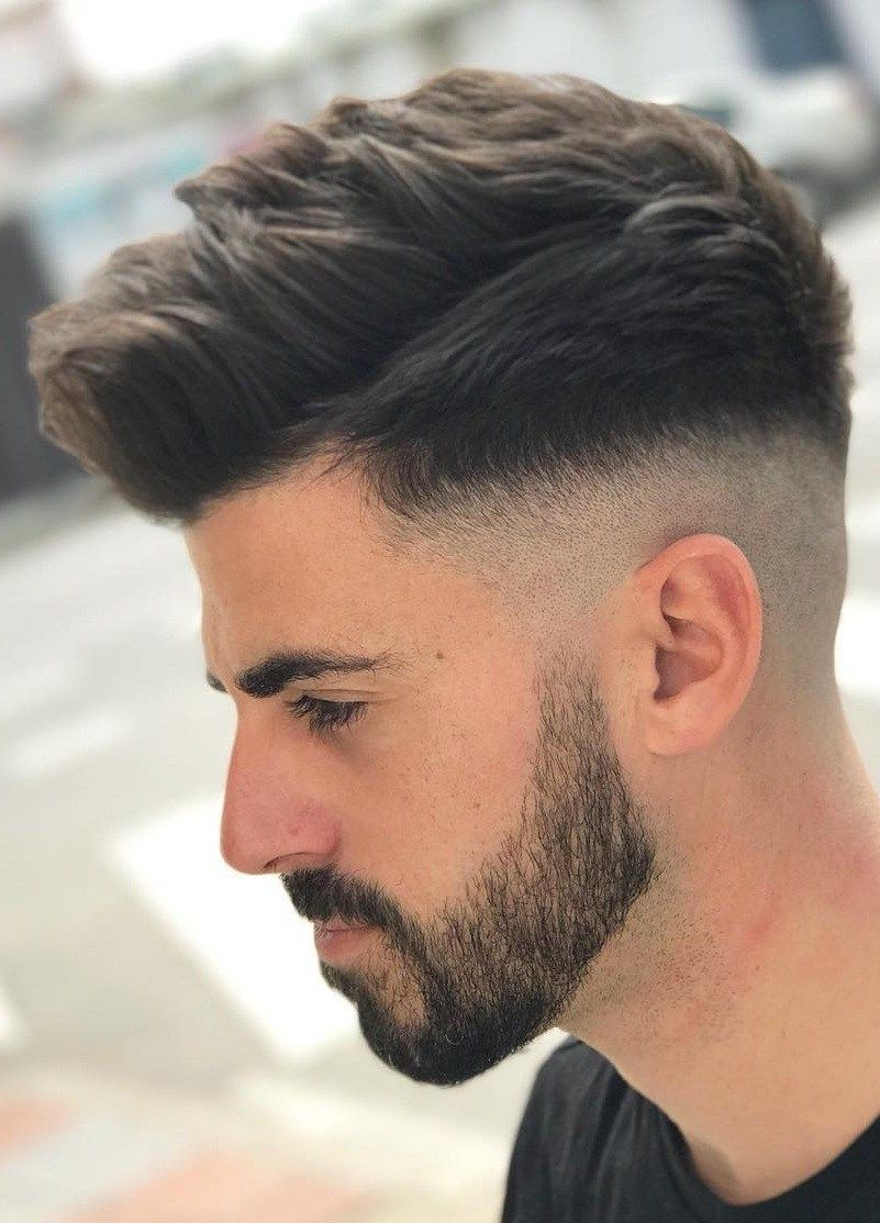 19 Popular Side Fade Haircuts For Men To Try In 2020 Mens Haircuts Fade Mens Hairstyles Fade Comb Over Fade Haircut