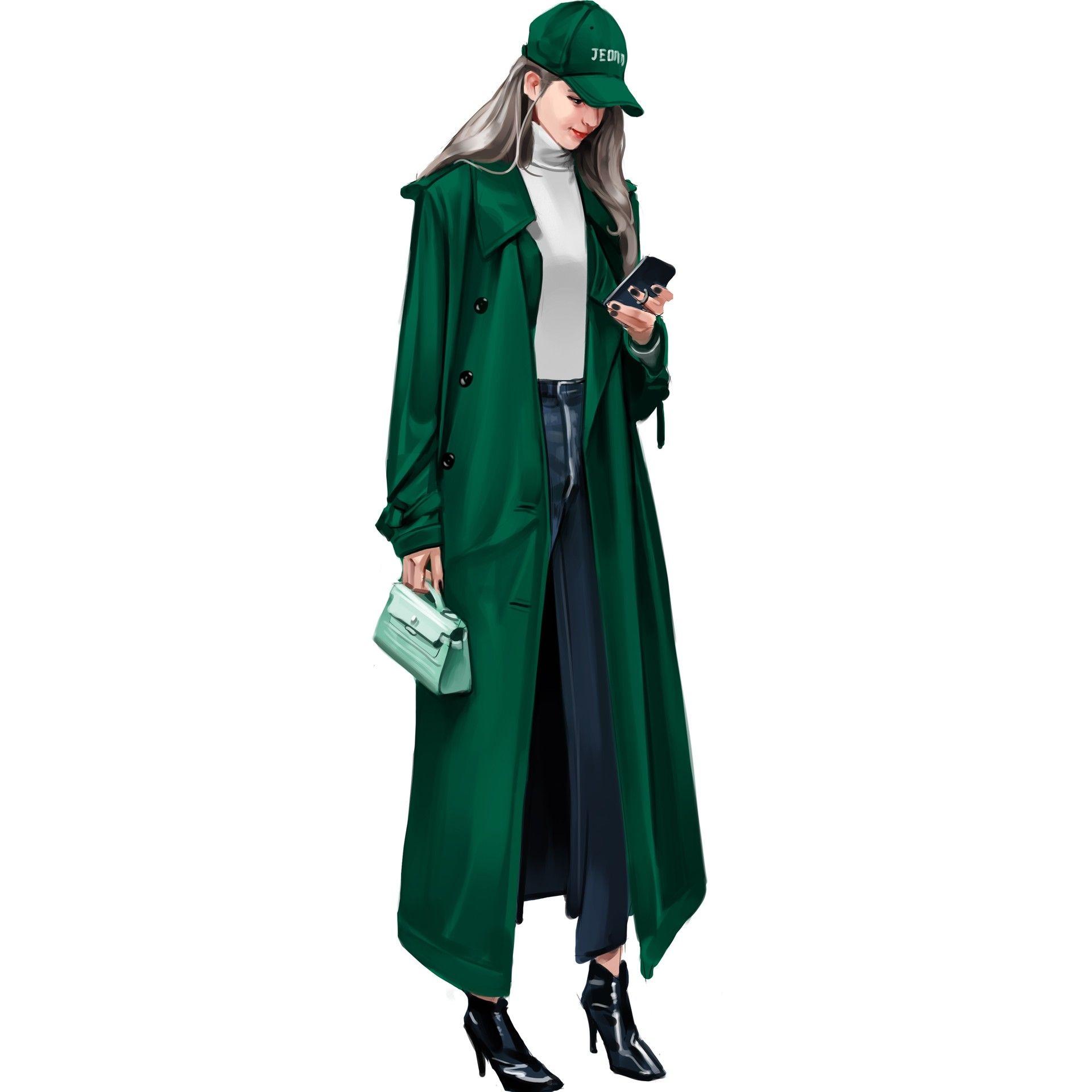 Photo of Fashion illust, jong hyun jeon
