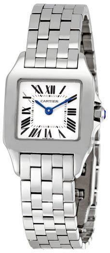 online store d674f faf0d Cartier Santos Demoiselle W25064Z5 | Cartier - Women's ...
