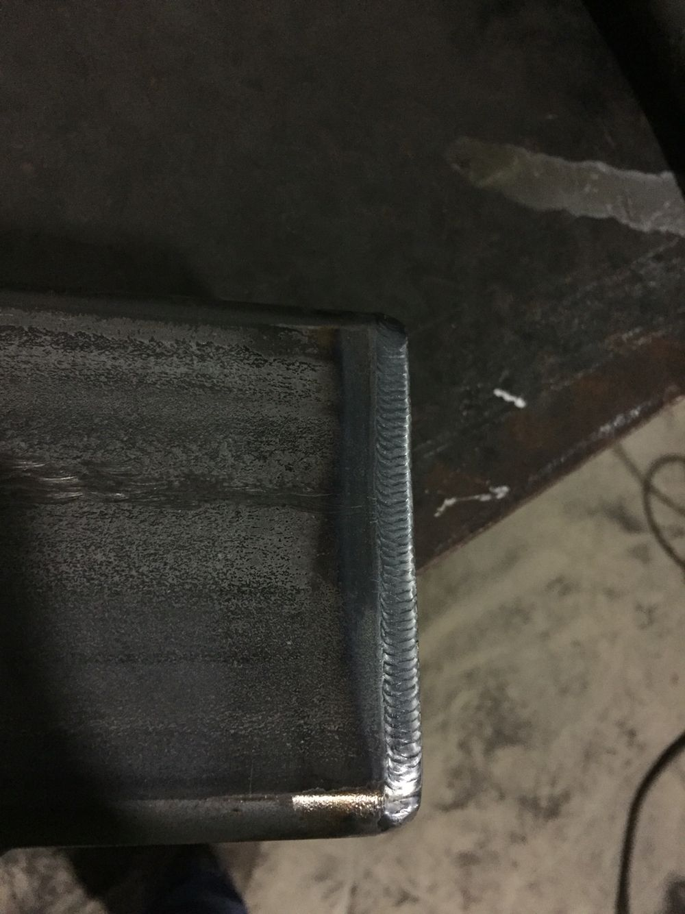 4/4 tube tig weld Sheet pan
