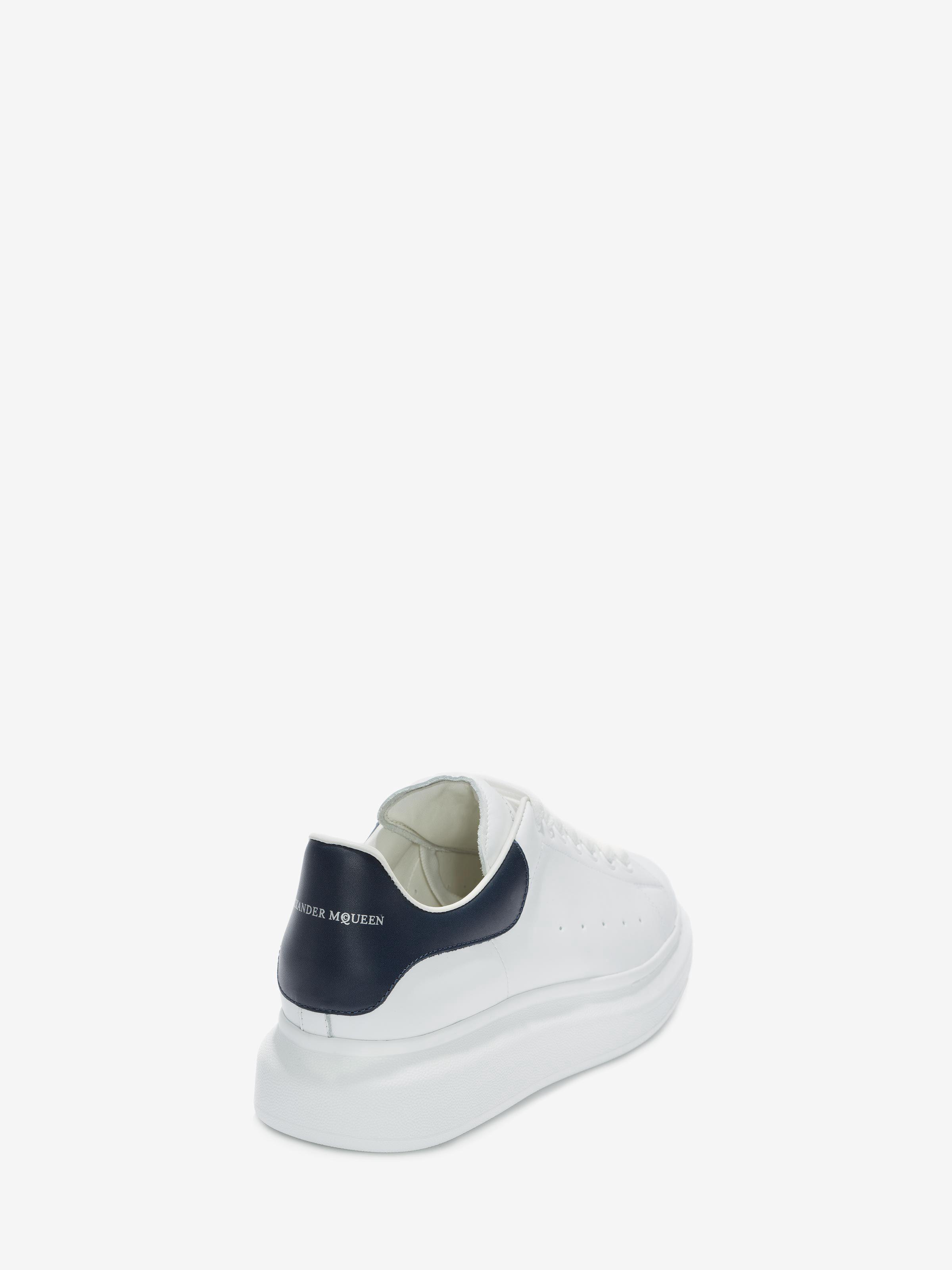 Alexander Mcqueen Oversized Sneaker - Blue/Navy 39 Navy Blue ...