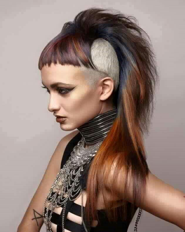 38+ Punk frisur lange haare Ideen