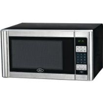 Oster Am1180ss 1 1 Cubic Foot 1000 Watt Countertop Microwave Oven Stainless Steel Finish Countertop Microwave Countertop Microwave Oven Microwave Oven Repair