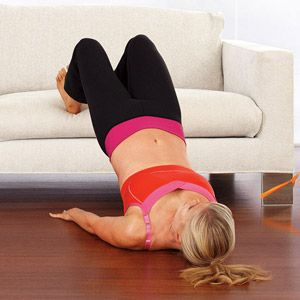 Ali Sweeney's Couch Workout...don't even have to leave the house...awesome!