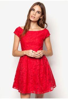 5f928b6345 ZALORA Mesh Yoke Lace Dress #onlineshop #onlineshopping #lazadaphilippines  #lazada #zaloraphilippines #zalora