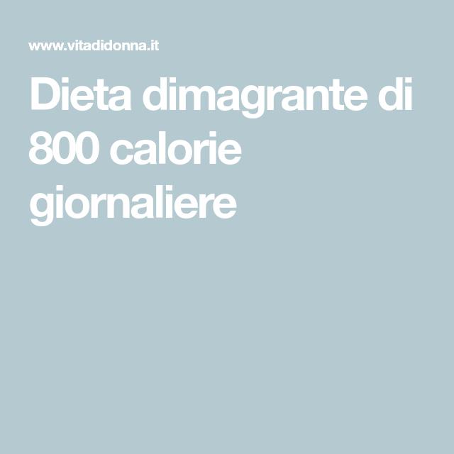 ricette dietetiche a 800 calorie