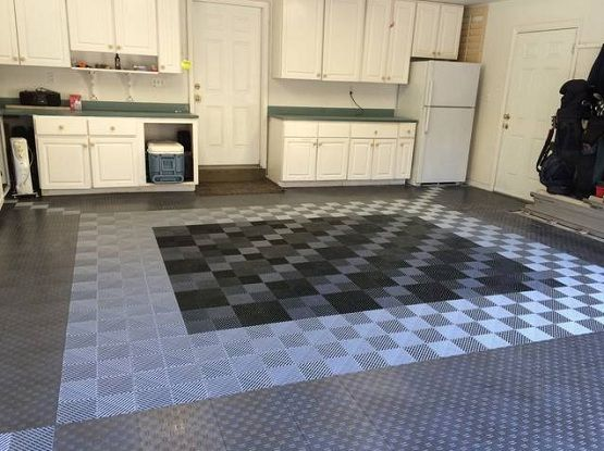 Snap Together Garage Flooring Tiles
