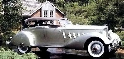 1934 Packard Twelve Sport Phaeton by LeBaron