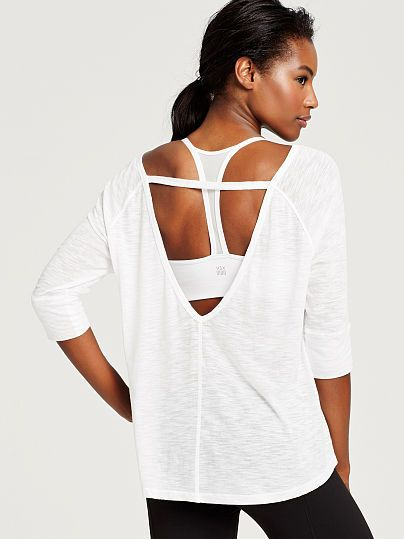 V-back Boxy Tee VS Sport