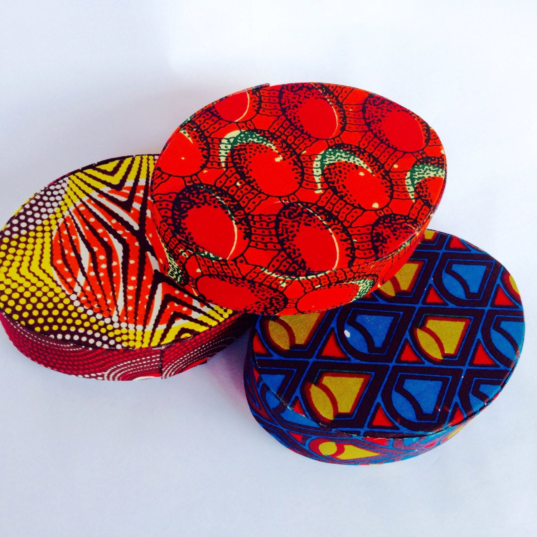 Sale African Print Jewelry Box Unique Gift Box Gift Wrapper Printed Jewelry African Print Etsy