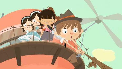 Floopalisti floopaloo story in illustrazioni animazione