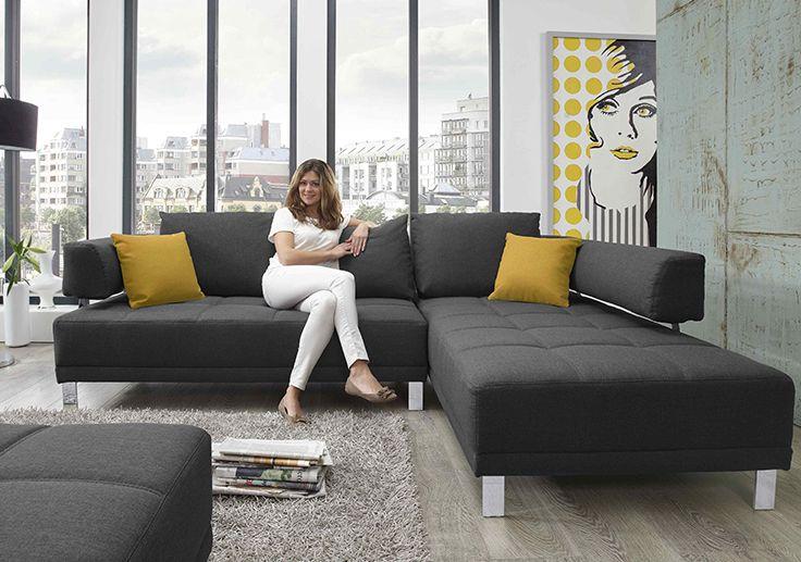 Eckkombination im modernen Design (258 x 189 cm) Wohnzimmer