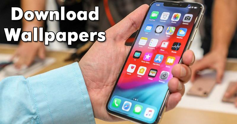 Download Hd Apple Iphone Xs Iphone Xs Max Iphone Xr Wallpapers