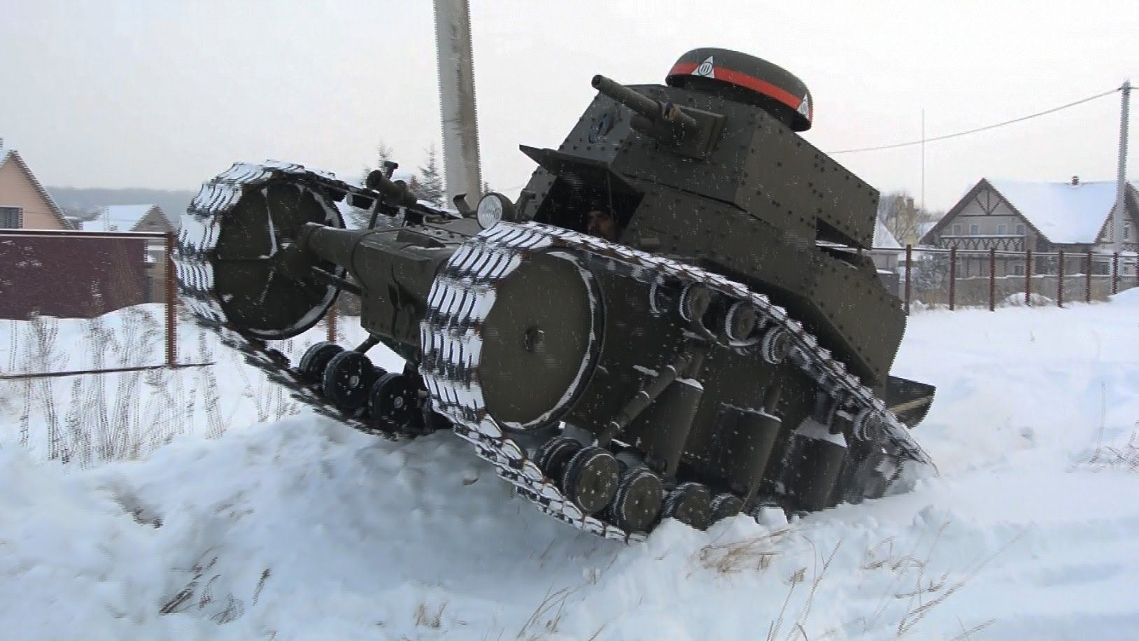 Wow! Самодельный танк!